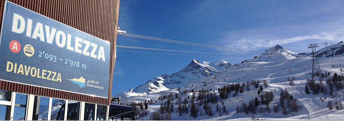 Talstation Bergbahn Diavolezza