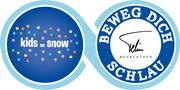 Logo des kids on snow und Beweg dich schlau vom DSLV
