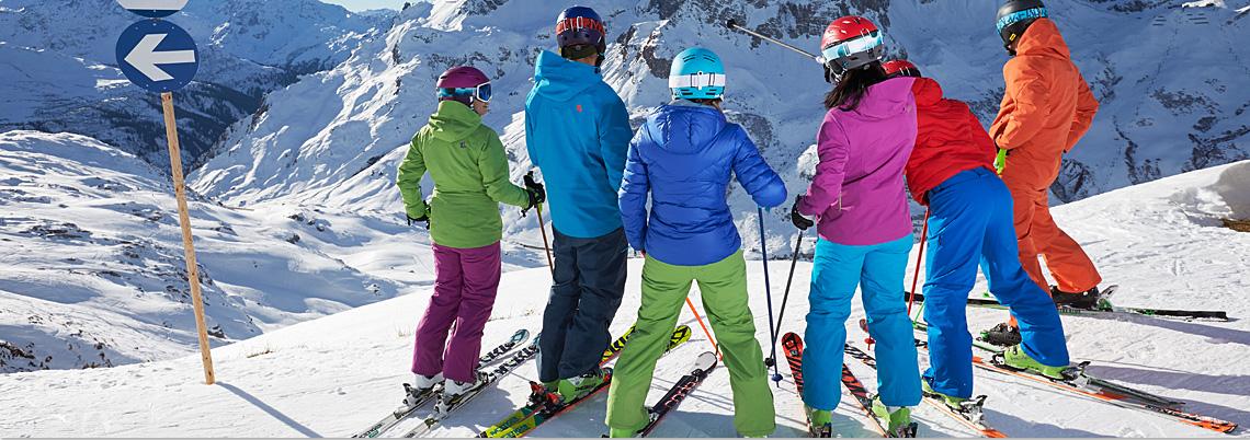 Mitfahrer Ski