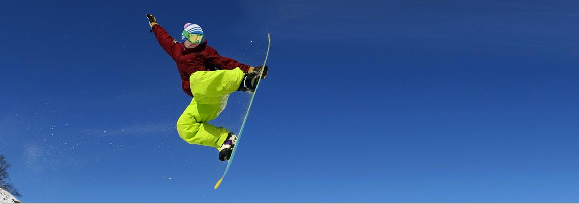 Snowboard-Kurse für Jugendliche