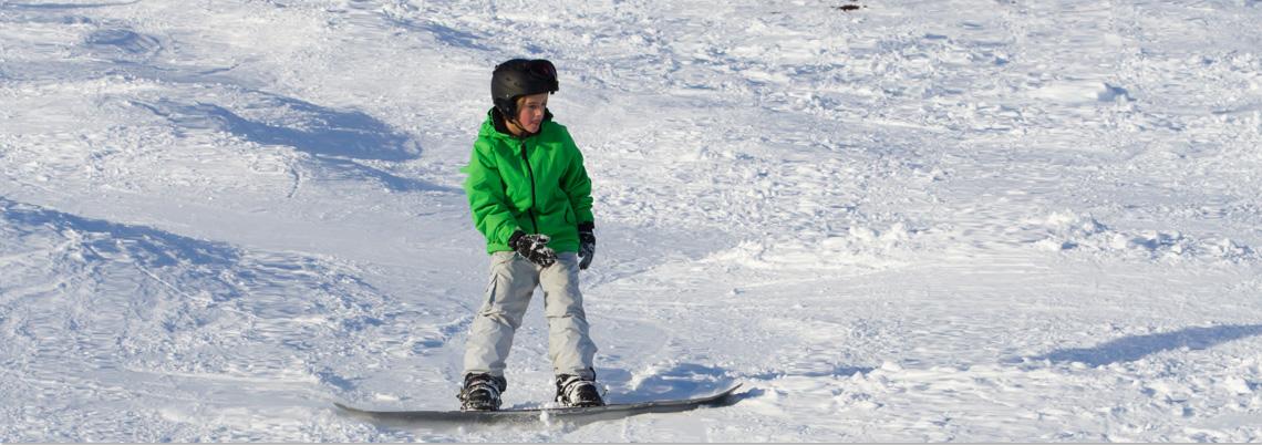 Snowboardkurse für Kinder
