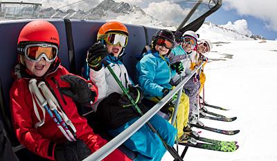 Skikurse fürs Zwergerl