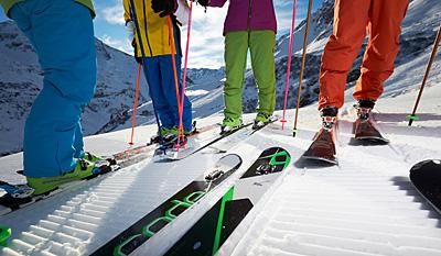 Ski- und Snowboardlehrer des Schweitzer Teams